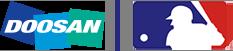 Doosan & MLB Logo