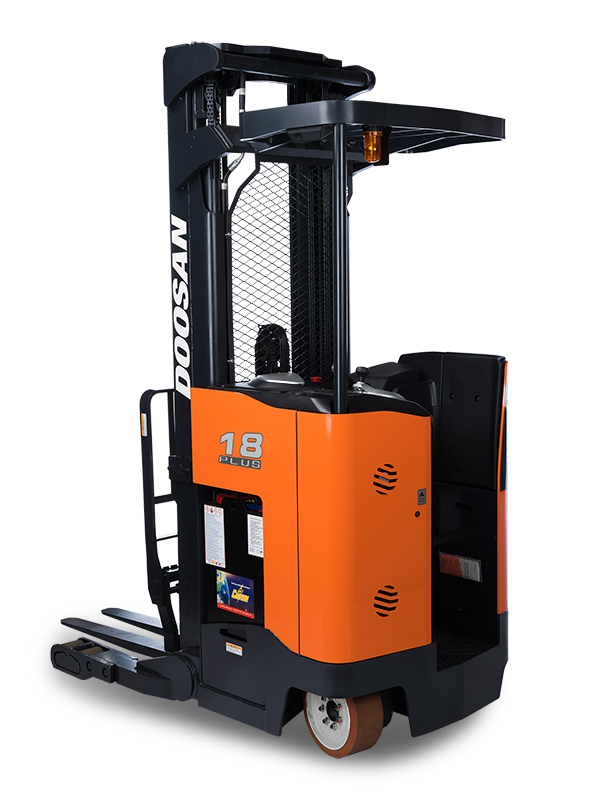 reach truck by doosan