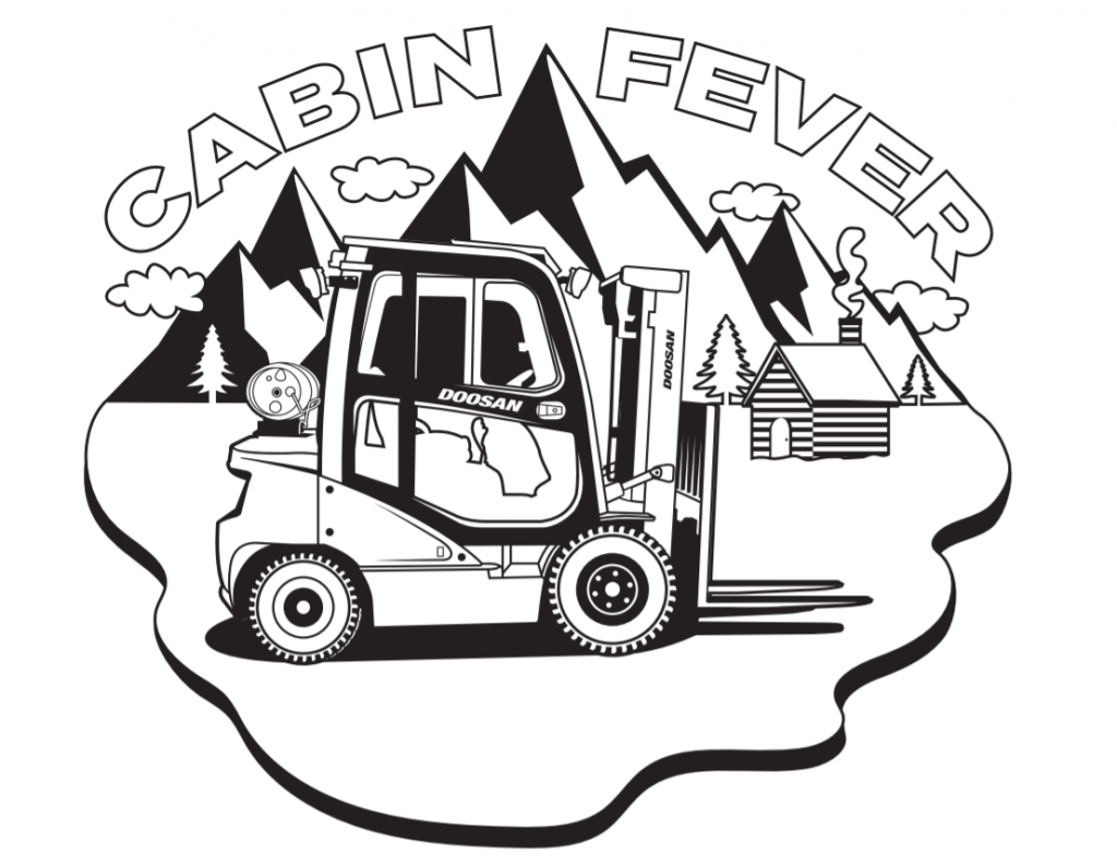 cabin fever coloring page