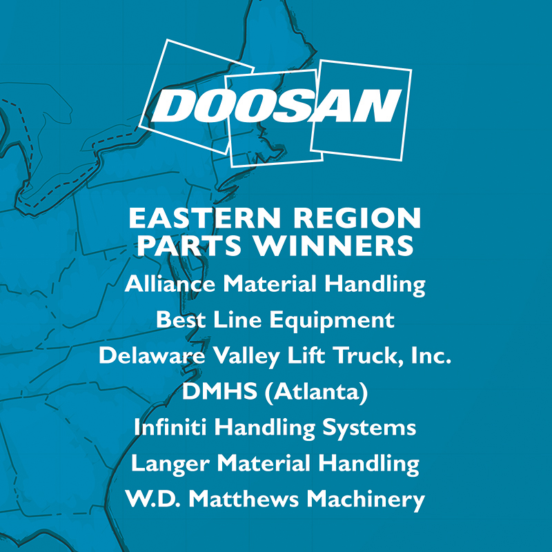 Eastern Region Parts Winners