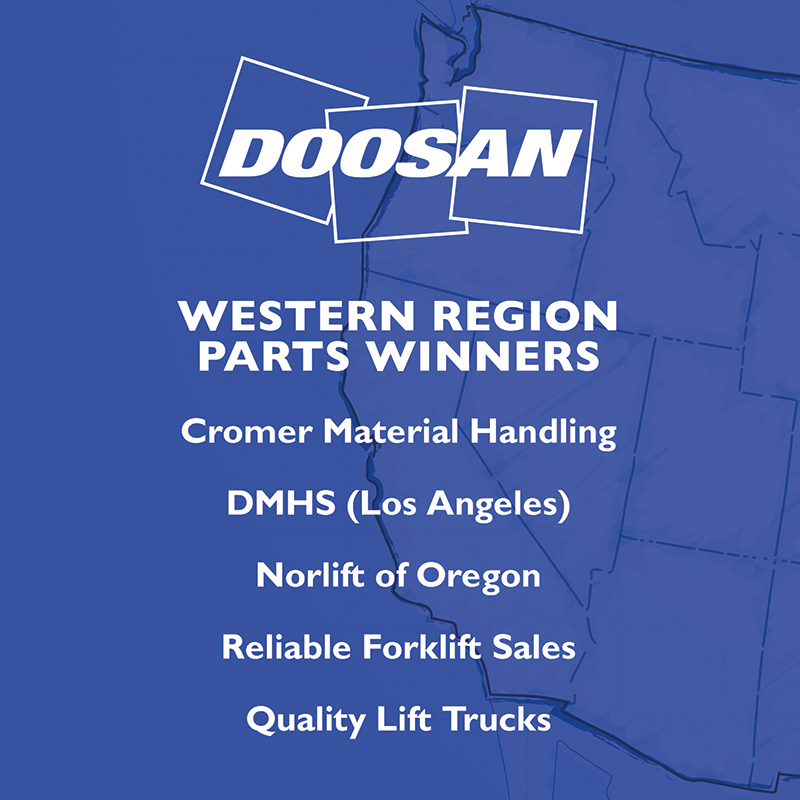 Western Region Parts Winners