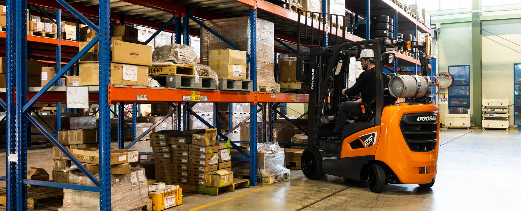 Average Lifespan of Diesel, Electric and Gas Forklifts & Reach Trucks